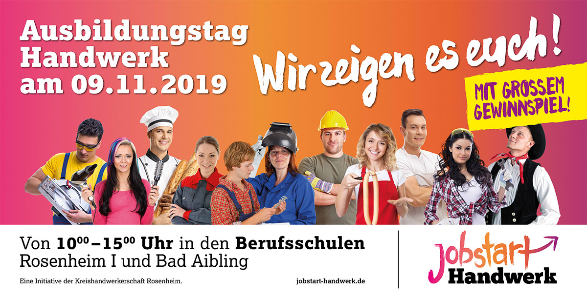 Impressionen JOBSTART – Ausbildungstag Handwerk 09.11.2019