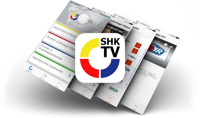 Obermeister Gerhard Hardrath im SHK-TV